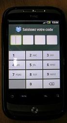 Code de verrouillage DropBox