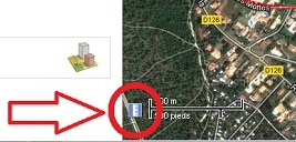 distances google map petit p
