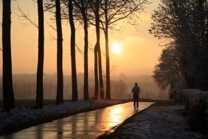 courir seul