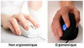 souris ergonomique