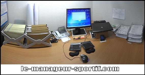 mon bureau rangé